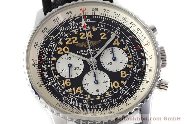 Used luxury watch Breitling Navitimer chronograph steel manual winding Kal. LWO 1324 Ref. A12023  | 152753 02