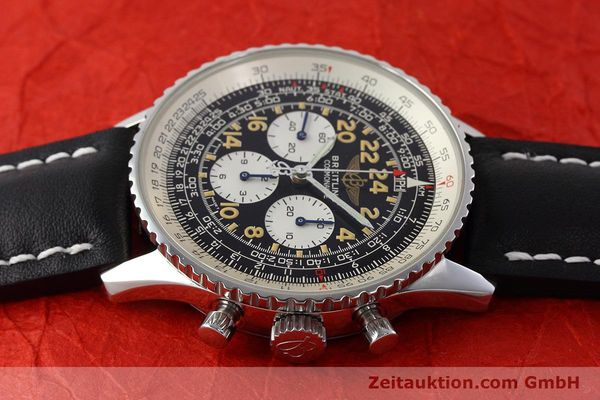 Used luxury watch Breitling Navitimer chronograph steel manual winding Kal. LWO 1324 Ref. A12023  | 152753 05