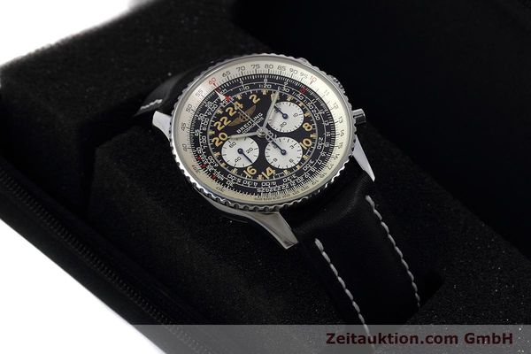 Used luxury watch Breitling Navitimer chronograph steel manual winding Kal. LWO 1324 Ref. A12023  | 152753 07