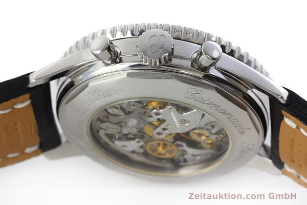 Used luxury watch Breitling Navitimer chronograph steel manual winding Kal. LWO 1324 Ref. A12023  | 152753 08