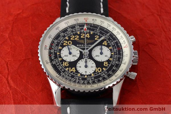 Used luxury watch Breitling Navitimer chronograph steel manual winding Kal. LWO 1324 Ref. A12023  | 152753 13