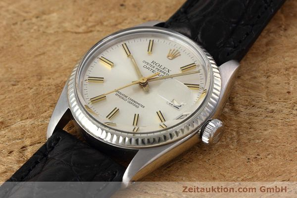 Used luxury watch Rolex Datejust steel / white gold automatic Kal. 3035 Ref. 16014  | 152758 01
