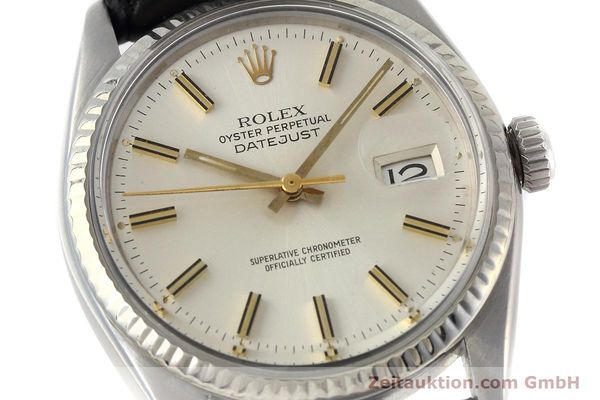 Used luxury watch Rolex Datejust steel / white gold automatic Kal. 3035 Ref. 16014  | 152758 02