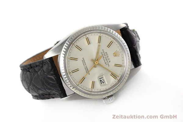 Used luxury watch Rolex Datejust steel / white gold automatic Kal. 3035 Ref. 16014  | 152758 03