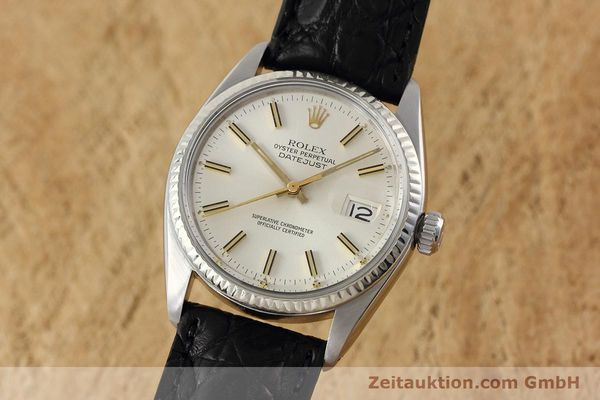 Used luxury watch Rolex Datejust steel / white gold automatic Kal. 3035 Ref. 16014  | 152758 04