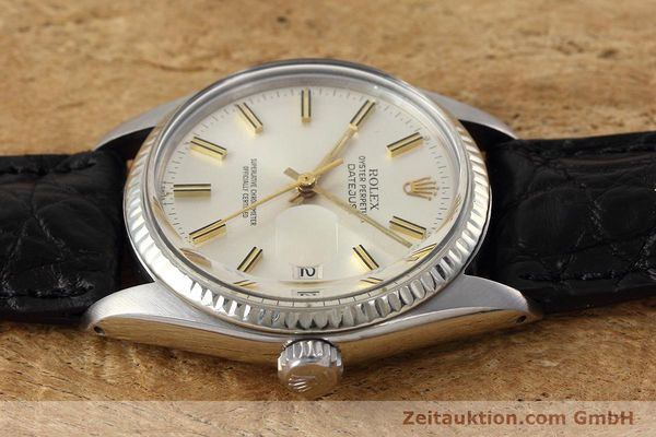 Used luxury watch Rolex Datejust steel / white gold automatic Kal. 3035 Ref. 16014  | 152758 05