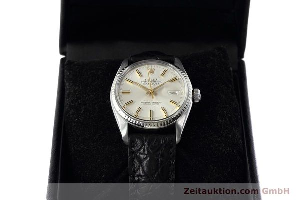 Used luxury watch Rolex Datejust steel / white gold automatic Kal. 3035 Ref. 16014  | 152758 07