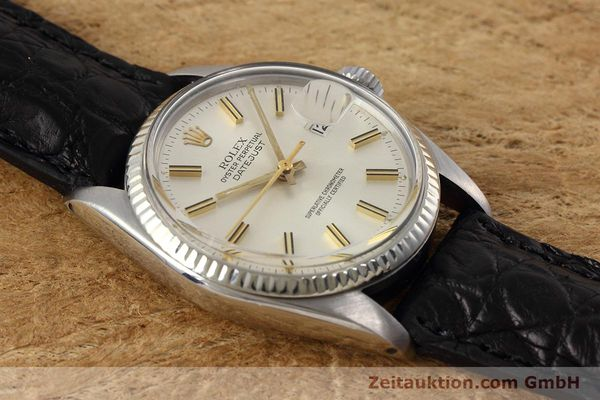 Used luxury watch Rolex Datejust steel / white gold automatic Kal. 3035 Ref. 16014  | 152758 13