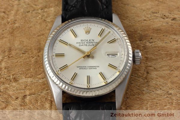 Used luxury watch Rolex Datejust steel / white gold automatic Kal. 3035 Ref. 16014  | 152758 14