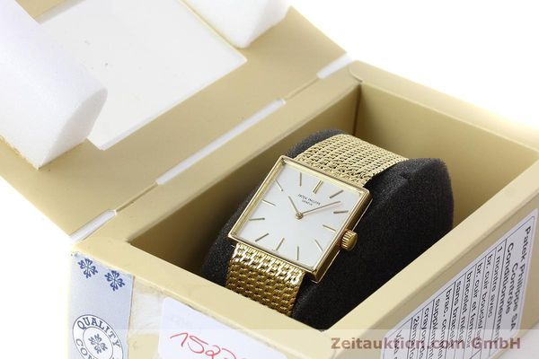 Used luxury watch Patek Philippe * 18 ct gold manual winding Kal. 23-300 Ref. 3430/12 VINTAGE  | 152759 07