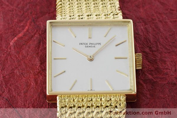 Used luxury watch Patek Philippe * 18 ct gold manual winding Kal. 23-300 Ref. 3430/12 VINTAGE  | 152759 16