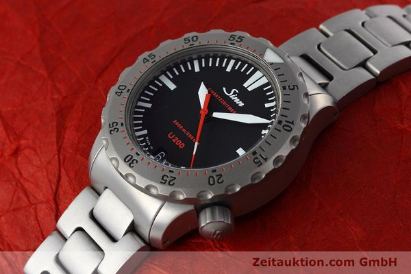 Used luxury watch Sinn U200 steel automatic Kal. ETA 2824-2 Ref. 1012.0059  | 152763 01