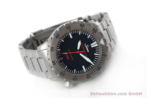 Used luxury watch Sinn U200 steel automatic Kal. ETA 2824-2 Ref. 1012.0059  | 152763 03