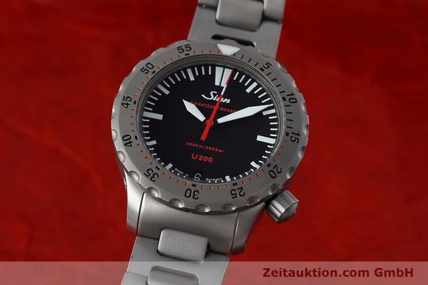Used luxury watch Sinn U200 steel automatic Kal. ETA 2824-2 Ref. 1012.0059  | 152763 04