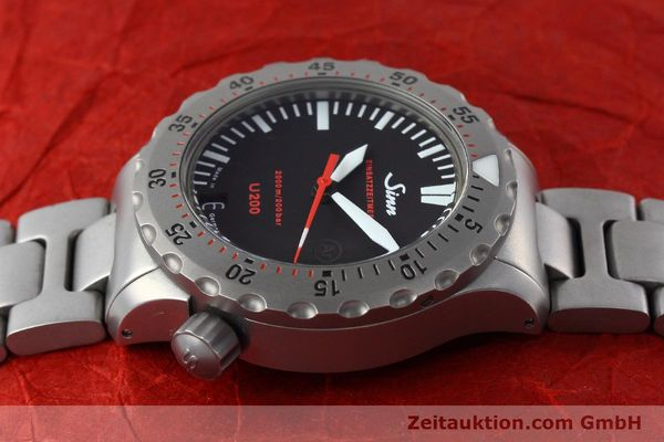 Used luxury watch Sinn U200 steel automatic Kal. ETA 2824-2 Ref. 1012.0059  | 152763 05