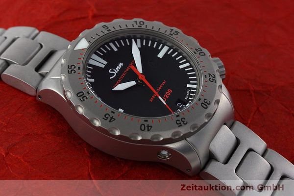 Used luxury watch Sinn U200 steel automatic Kal. ETA 2824-2 Ref. 1012.0059  | 152763 14