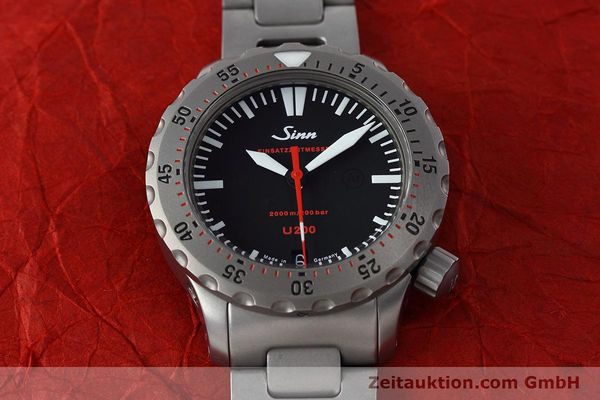 Used luxury watch Sinn U200 steel automatic Kal. ETA 2824-2 Ref. 1012.0059  | 152763 15