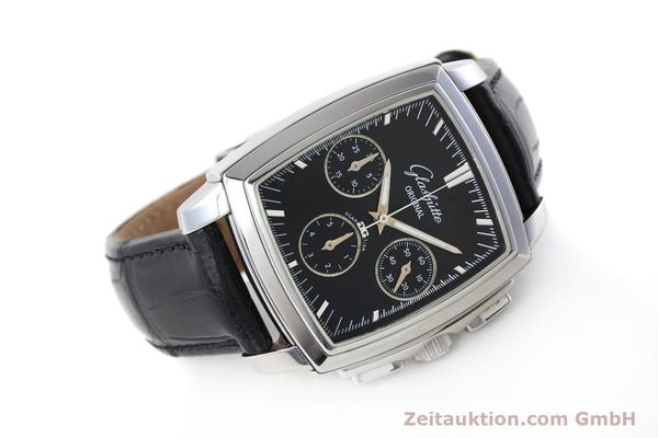 Used luxury watch Glashütte Senator chronograph steel automatic Kal. GUB 39 Ref. 39-31-54-52-04  | 152765 03