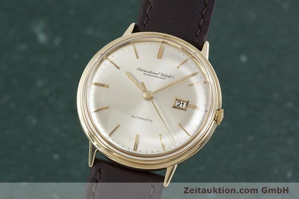 Used luxury watch IWC Portofino 18 ct gold automatic Kal. 8531 VINTAGE  | 152777 04