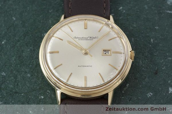 Used luxury watch IWC Portofino 18 ct gold automatic Kal. 8531 VINTAGE  | 152777 14