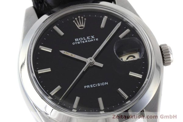 Used luxury watch Rolex Precision steel manual winding Kal. 1215 Ref. 6694 VINTAGE  | 152783 02