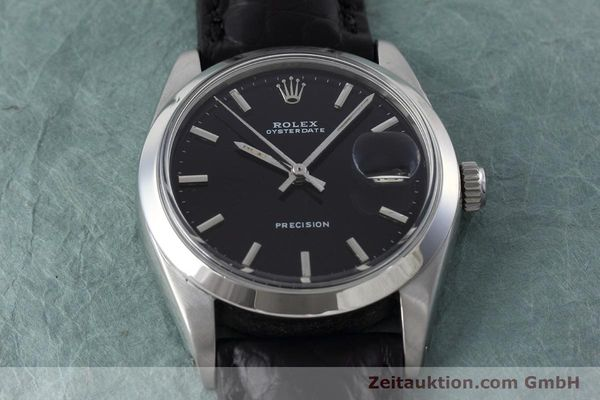 Used luxury watch Rolex Precision steel manual winding Kal. 1215 Ref. 6694 VINTAGE  | 152783 14