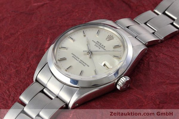 Used luxury watch Rolex Date steel automatic Kal. 1570 Ref. 1500 VINTAGE  | 152785 01