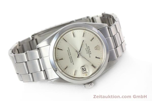 Used luxury watch Rolex Date steel automatic Kal. 1570 Ref. 1500 VINTAGE  | 152785 03