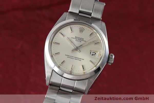 Used luxury watch Rolex Date steel automatic Kal. 1570 Ref. 1500 VINTAGE  | 152785 04