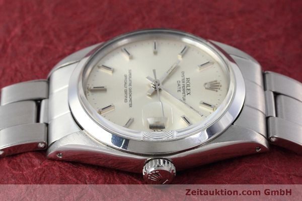 Used luxury watch Rolex Date steel automatic Kal. 1570 Ref. 1500 VINTAGE  | 152785 05