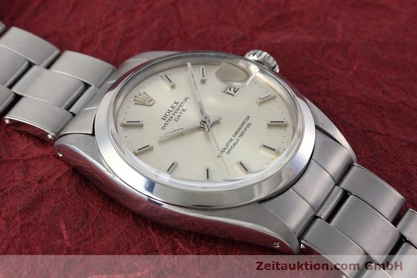 Used luxury watch Rolex Date steel automatic Kal. 1570 Ref. 1500 VINTAGE  | 152785 14