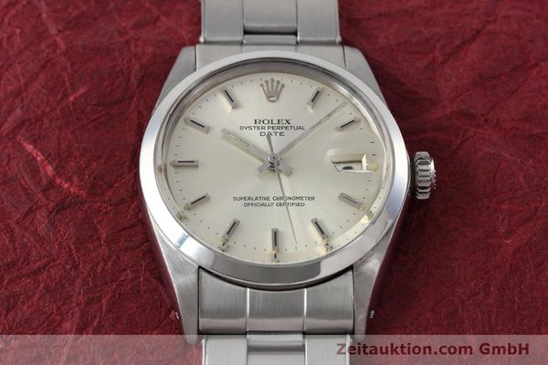 Used luxury watch Rolex Date steel automatic Kal. 1570 Ref. 1500 VINTAGE  | 152785 15
