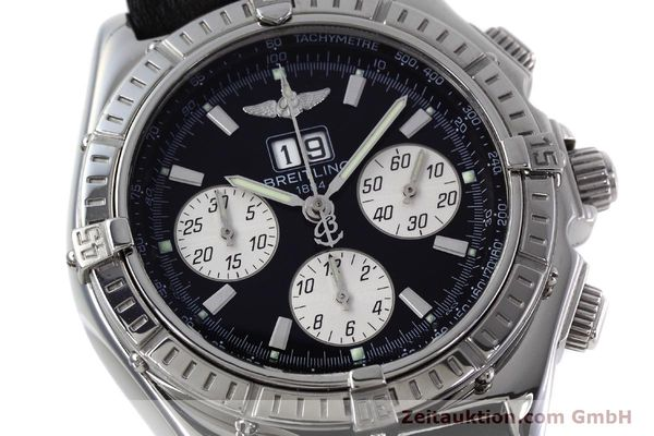 Used luxury watch Breitling Crosswind chronograph steel automatic Kal. B44 ETA 2892A2 Ref. A44355  | 152792 02