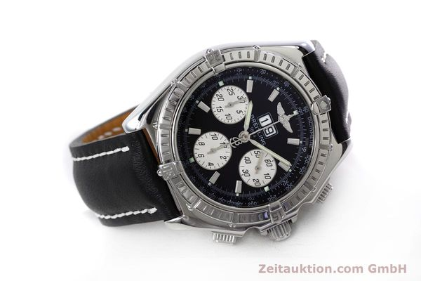Used luxury watch Breitling Crosswind chronograph steel automatic Kal. B44 ETA 2892A2 Ref. A44355  | 152792 03