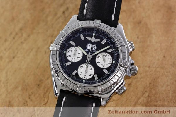 Used luxury watch Breitling Crosswind chronograph steel automatic Kal. B44 ETA 2892A2 Ref. A44355  | 152792 04