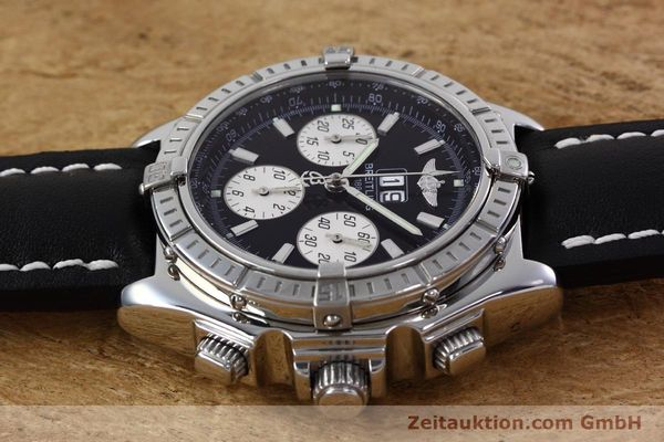 Used luxury watch Breitling Crosswind chronograph steel automatic Kal. B44 ETA 2892A2 Ref. A44355  | 152792 05