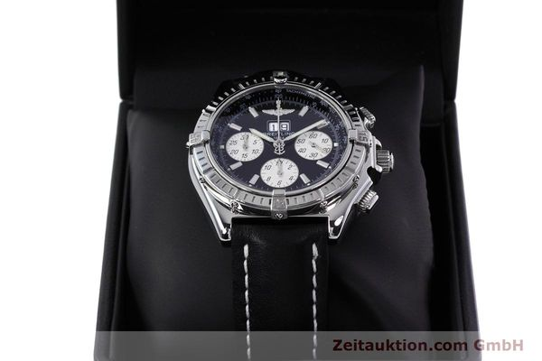 Used luxury watch Breitling Crosswind chronograph steel automatic Kal. B44 ETA 2892A2 Ref. A44355  | 152792 07