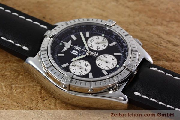 Used luxury watch Breitling Crosswind chronograph steel automatic Kal. B44 ETA 2892A2 Ref. A44355  | 152792 13