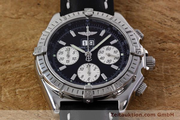Used luxury watch Breitling Crosswind chronograph steel automatic Kal. B44 ETA 2892A2 Ref. A44355  | 152792 14