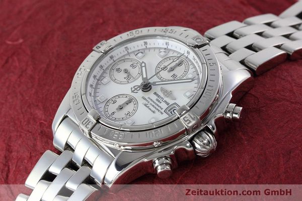 Used luxury watch Breitling Chronomat chronograph steel automatic Kal. B13 ETA 7750 Ref. A13358  | 152795 01