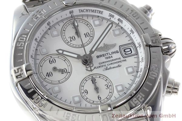 Used luxury watch Breitling Chronomat chronograph steel automatic Kal. B13 ETA 7750 Ref. A13358  | 152795 02