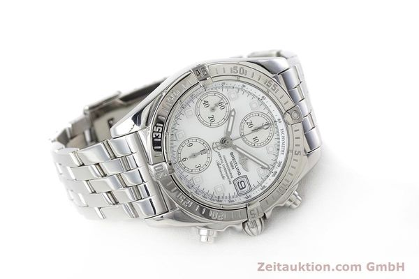 Used luxury watch Breitling Chronomat chronograph steel automatic Kal. B13 ETA 7750 Ref. A13358  | 152795 03