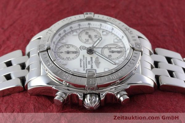 Used luxury watch Breitling Chronomat chronograph steel automatic Kal. B13 ETA 7750 Ref. A13358  | 152795 05