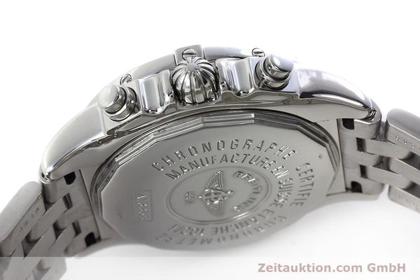 Used luxury watch Breitling Chronomat chronograph steel automatic Kal. B13 ETA 7750 Ref. A13358  | 152795 11