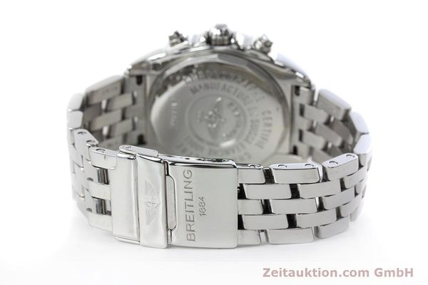 Used luxury watch Breitling Chronomat chronograph steel automatic Kal. B13 ETA 7750 Ref. A13358  | 152795 12