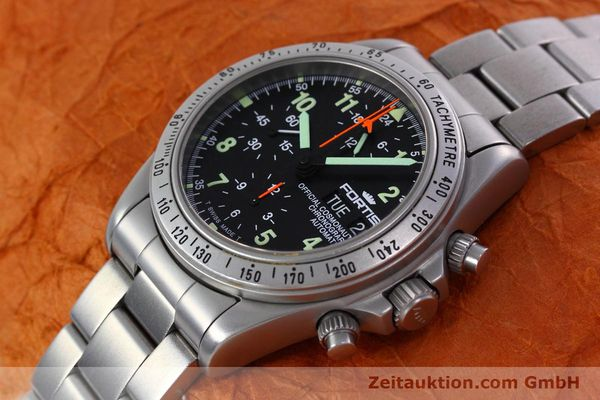 Used luxury watch Fortis Cosmonauts Chronograph chronograph steel automatic Kal. 5100 Ref. 602.22.142  | 152797 01