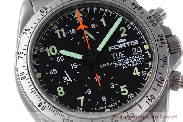 Used luxury watch Fortis Cosmonauts Chronograph chronograph steel automatic Kal. 5100 Ref. 602.22.142  | 152797 02