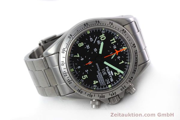 Used luxury watch Fortis Cosmonauts Chronograph chronograph steel automatic Kal. 5100 Ref. 602.22.142  | 152797 03