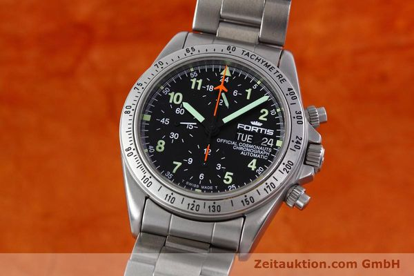 Used luxury watch Fortis Cosmonauts Chronograph chronograph steel automatic Kal. 5100 Ref. 602.22.142  | 152797 04