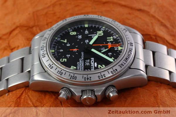 Used luxury watch Fortis Cosmonauts Chronograph chronograph steel automatic Kal. 5100 Ref. 602.22.142  | 152797 05